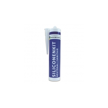 BouwCenter siliconenkit 310 ml transparant neutraal