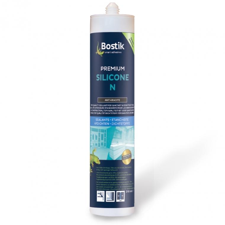 Uitzonderlijk Bostik Premium Silicone N 310 Ml Grijs - kitvoordeel.nl HG28